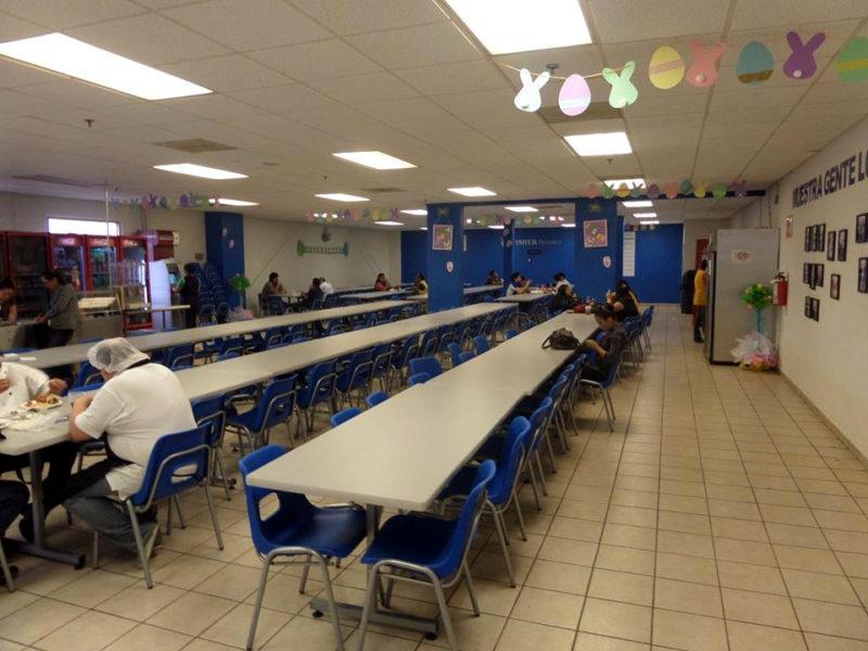 Mesas y sillas para comedor industrial – Ofimundo Plus