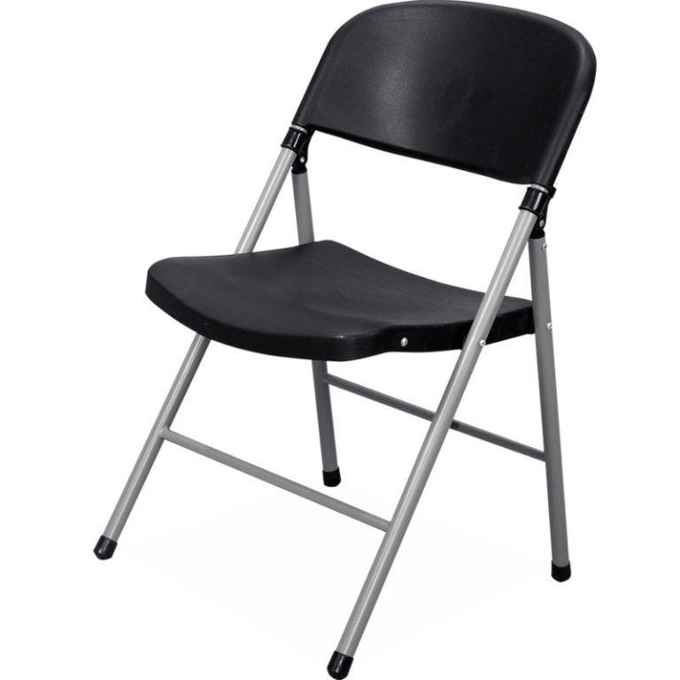 silla banqueterta y de visita plegable plastica