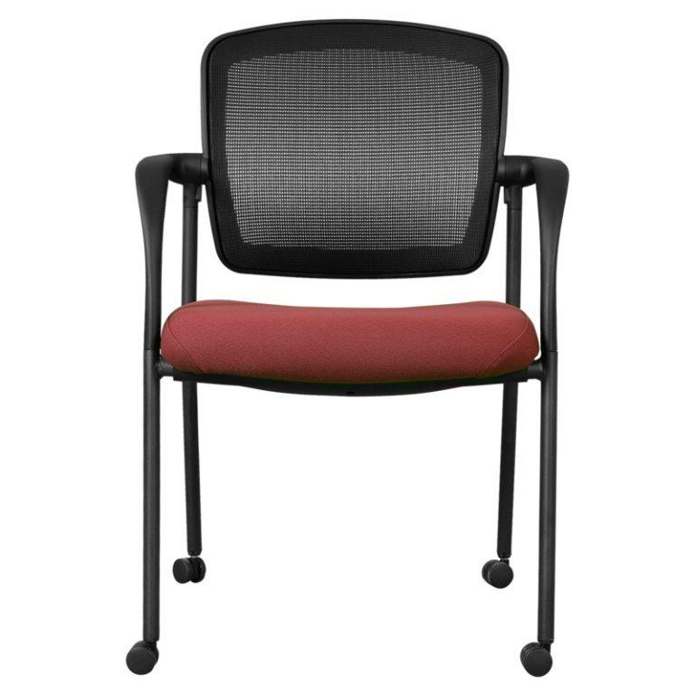 silla de visita con brazos ceres hcg6 tela