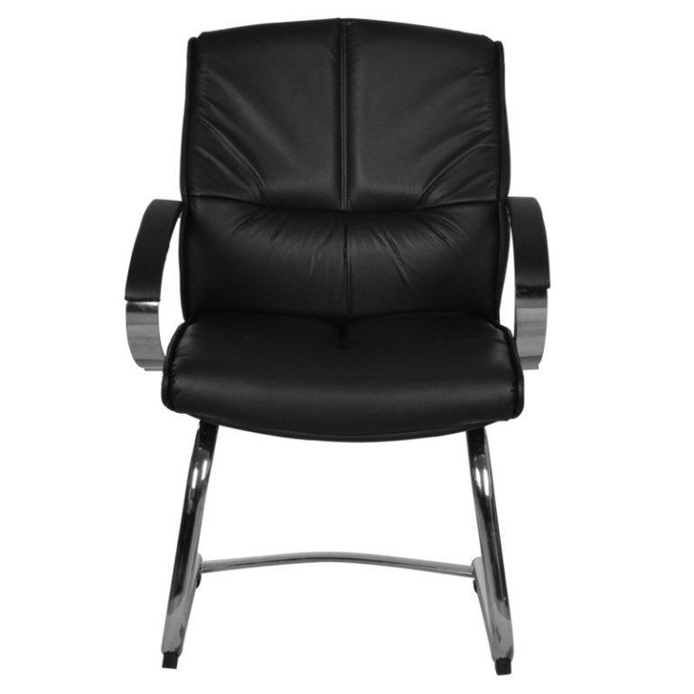 silla de visita kahlo negro