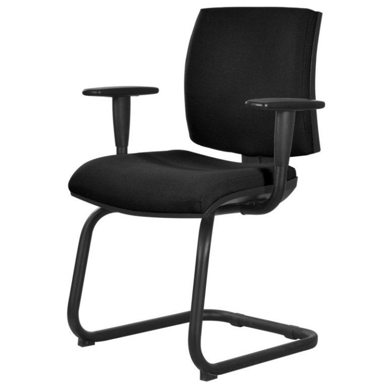 silla de visita lizardi negro